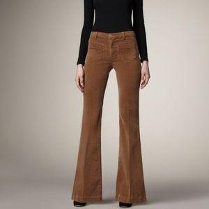 J Brand Jeans Ali Wide Leg Corduroy